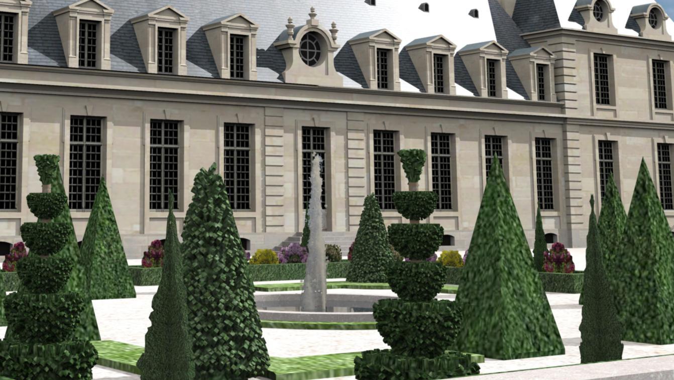 Les jardins du levant de chaville for Parterre 3d